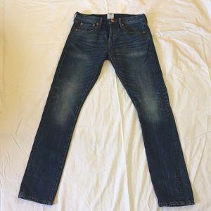 GAP Baldwin GQ collection men's jeans